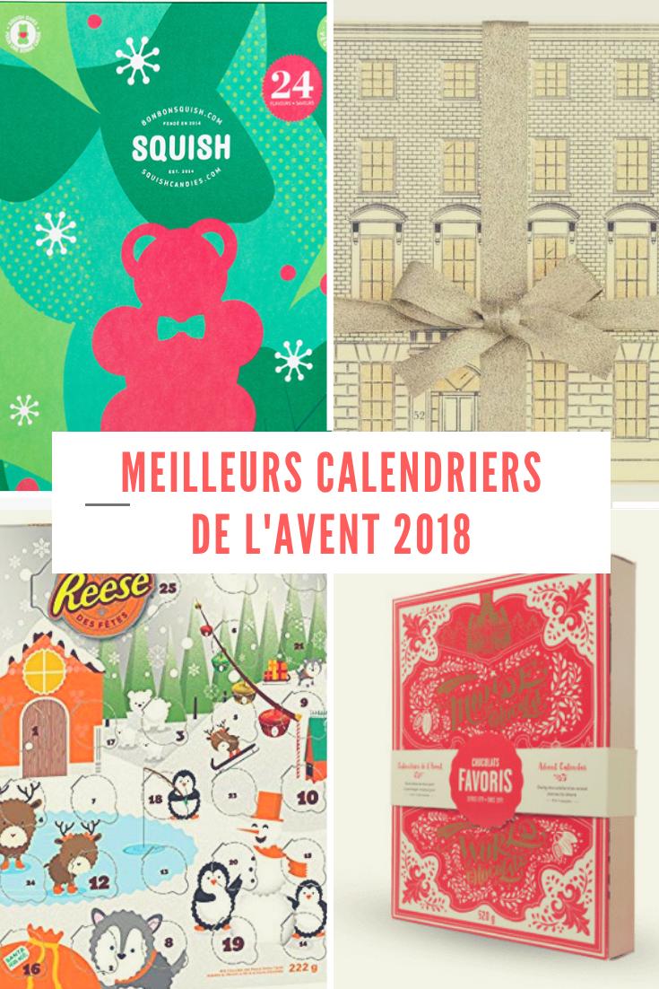 Les Meilleurs Calendriers De L'avent 2018 - Noël Et Temps avec Calendrier 2018 Enfant