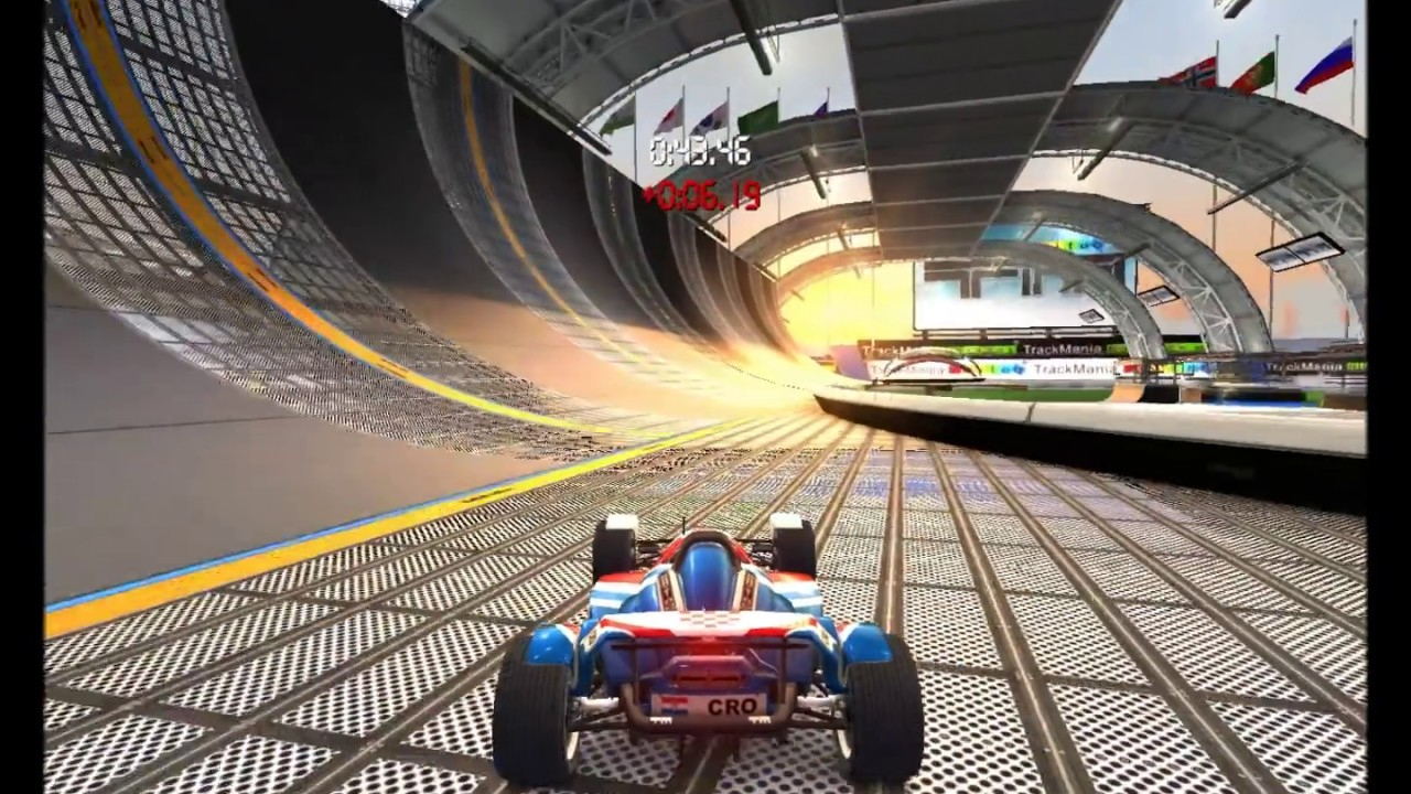 Les Meilleurs Jeux De Courses/voitures, Trackmania : United Forever à Jeux De Voiture De Cours