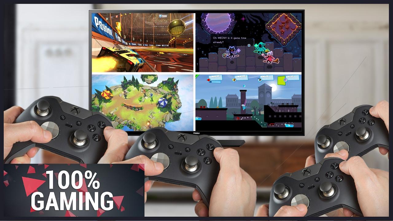 Les Meilleurs Jeux Multi Pour S'éclater Sur Le Même Écran - 100% Gaming intérieur Jeux A Deux En Ligne