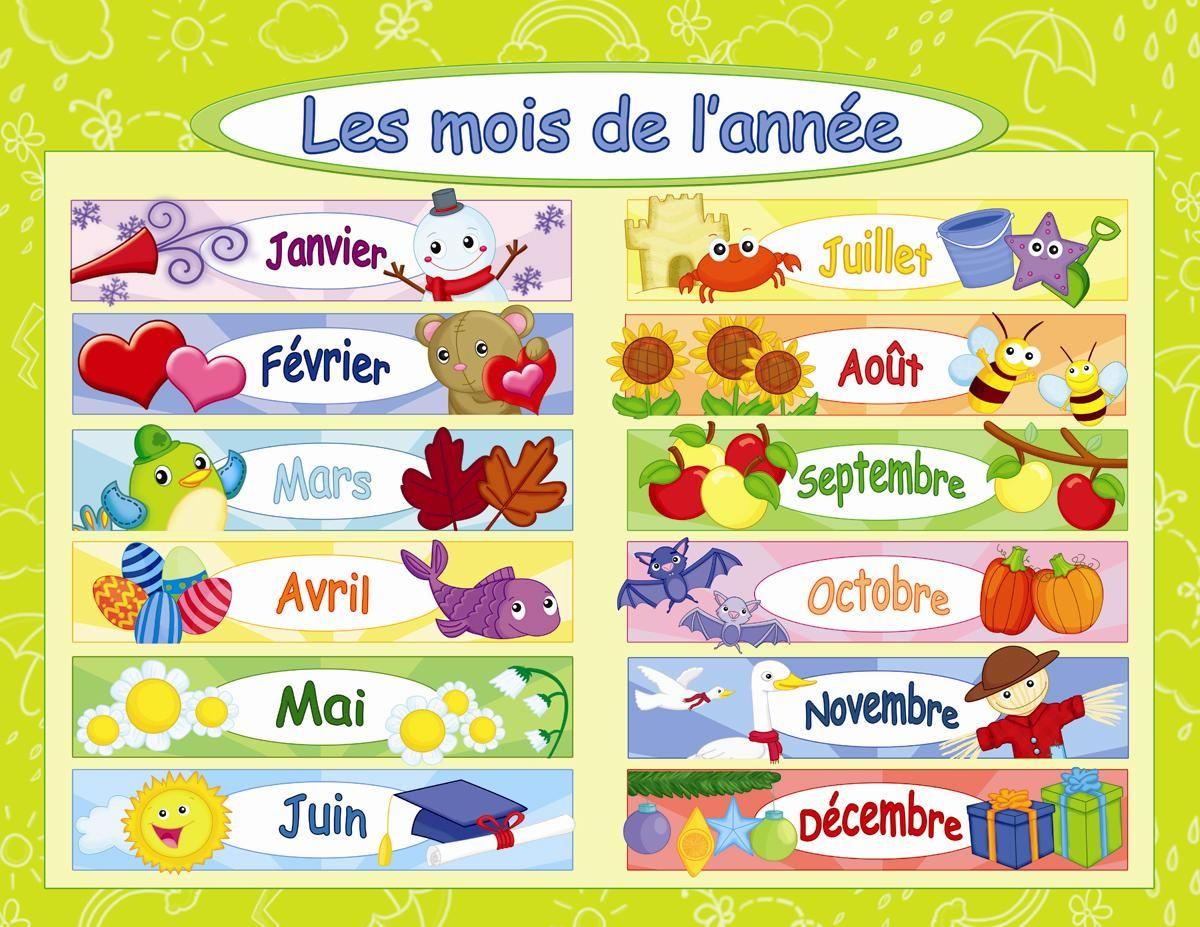 Les Mois De L'année Sont Janvier,février,mars,avril,mai,juin tout Jeux Pour Apprendre Les Mois De L Année