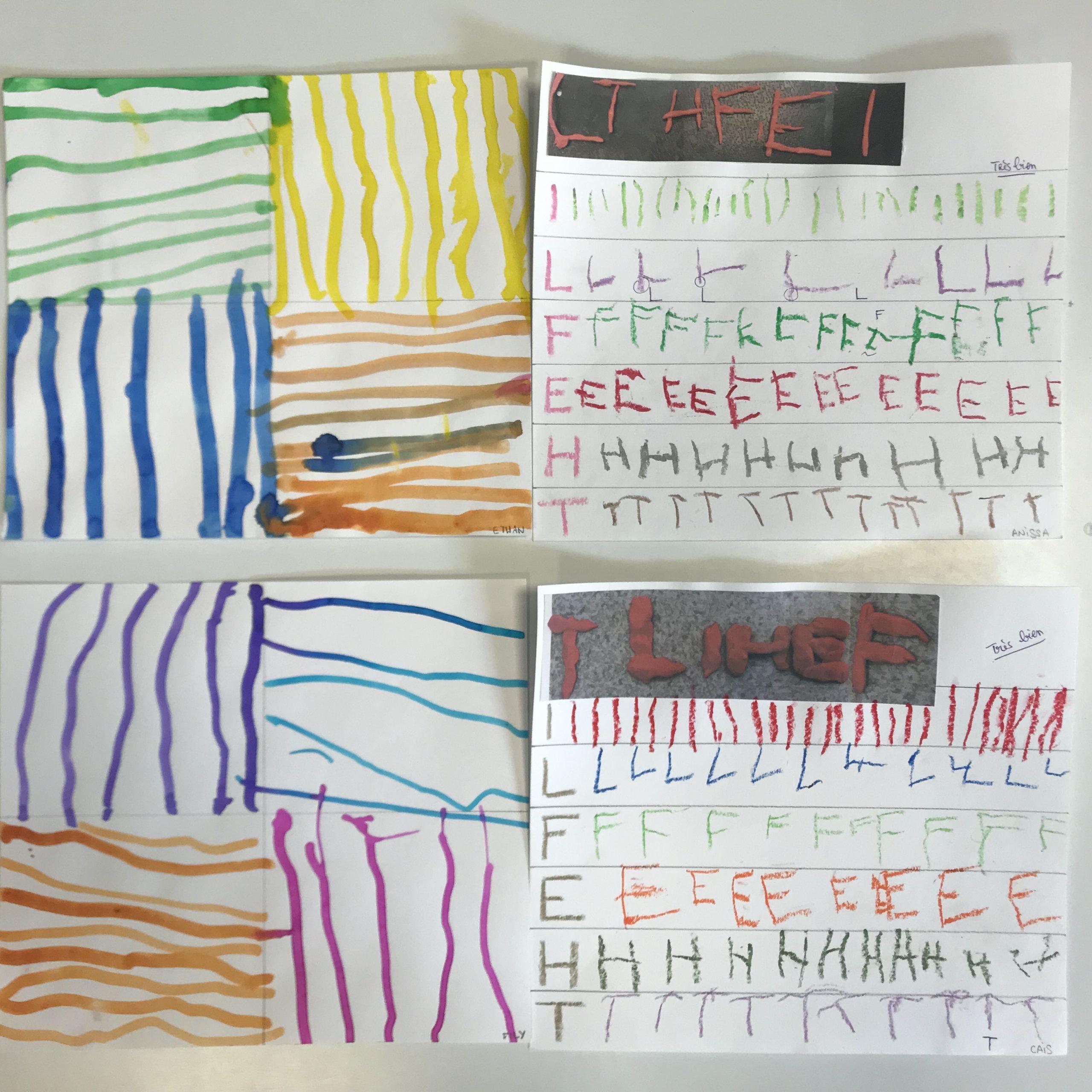 Les Moyens - Du Graphisme, Des Peintres, De L'écriture destiné Livre Graphisme Maternelle