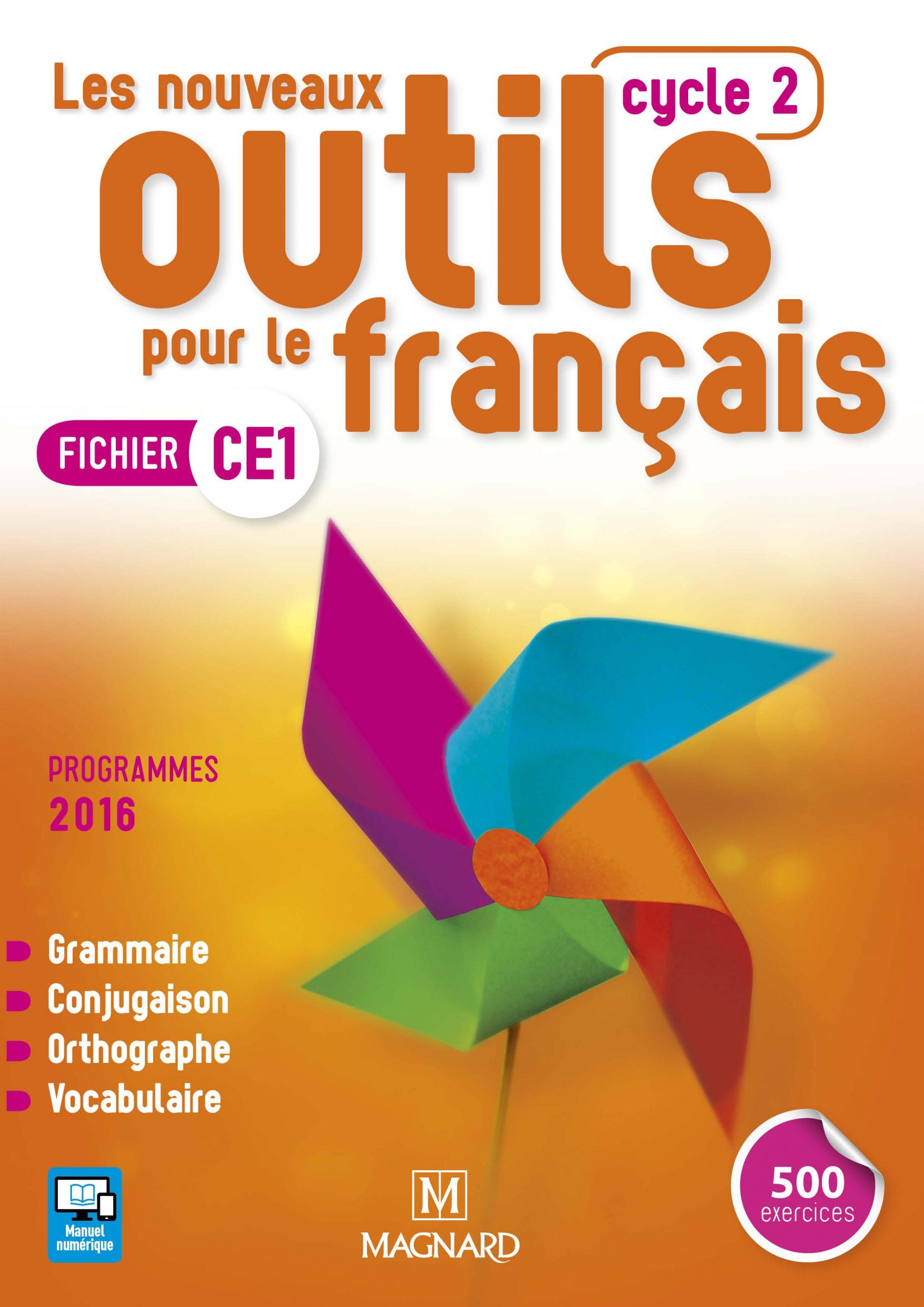 Les Nouveaux Outils Pour Le Français Ce1 (2017) - Fichier De à Fiche Français Ce1 Imprimer