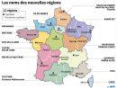 Les Nouvelles Régions Ont Désormais Toutes Un Nom - Challenges avec 13 Régions Françaises