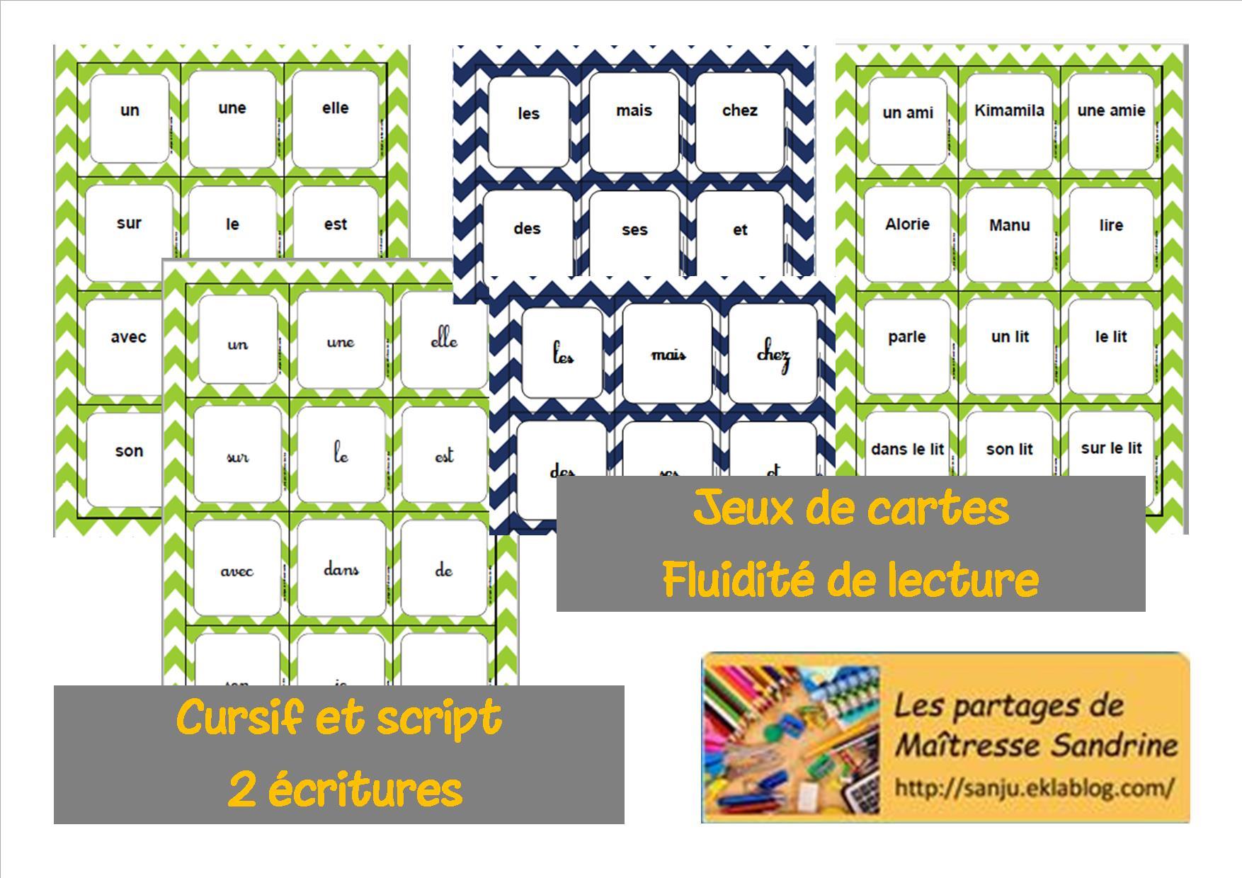 Les Partages De Maîtresse Sandrine - Gs-Cp-Ce2 destiné Jeux De Maitresse A Imprimer