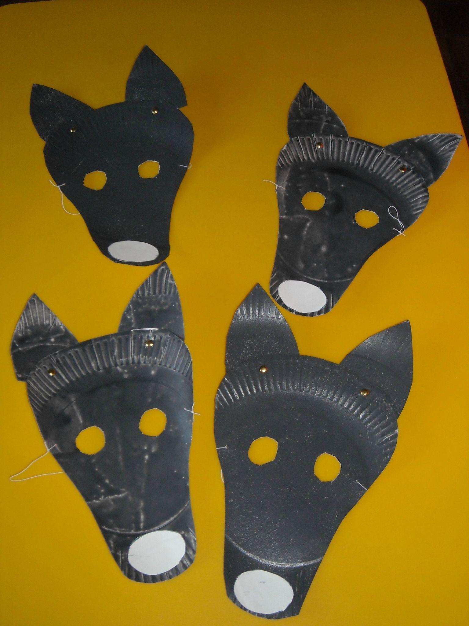 Les Petits Loups : - Du Côté De Chez Alice | Loup, Masque dedans Masque De Loup À Imprimer