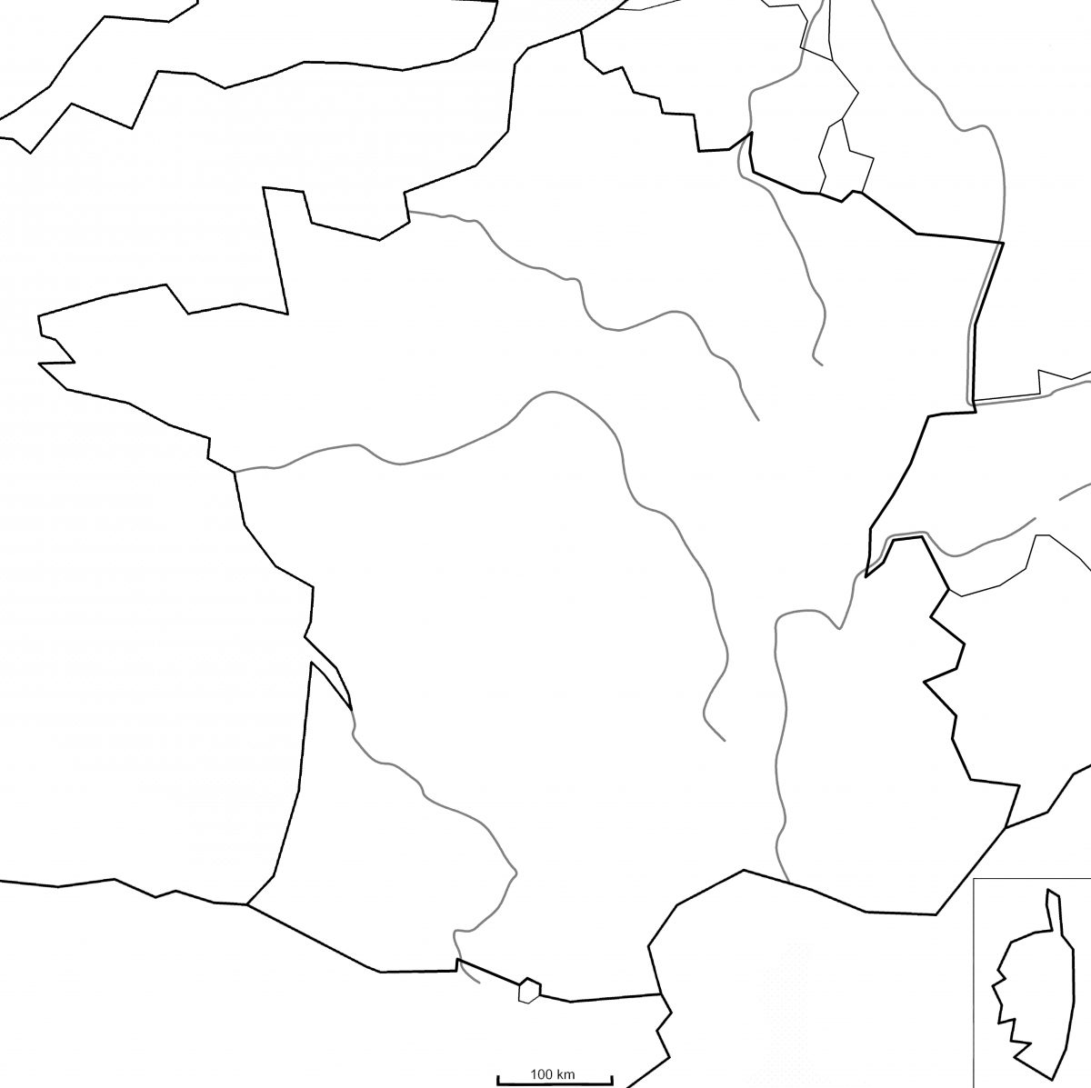Les Principaux Fleuves De France - Montessori Etcie pour Carte Des Fleuves De France - PrimaNYC.com