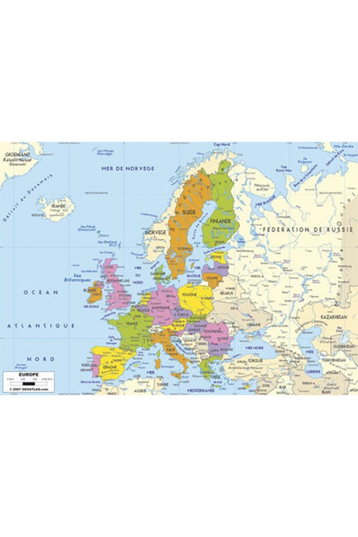 Les Puzzles De Jean — Puzzle Géographique Artisanal Carte encequiconcerne Carte Géographique De L Europe