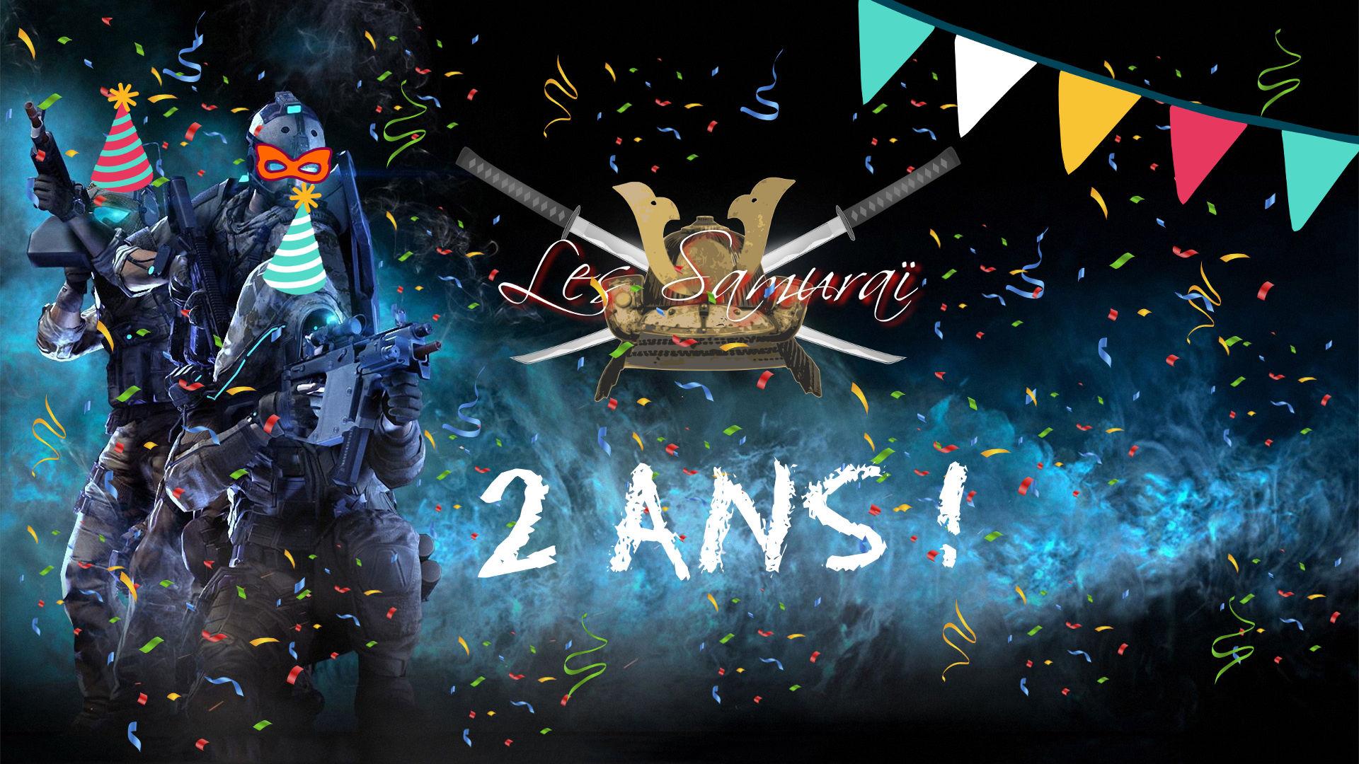 Les Samuraï Xls Communauté De Joueurs Francophones Fêtent intérieur Jeux 2 Ans En Ligne