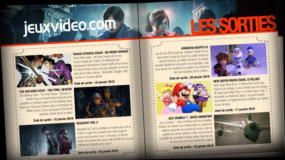 Les Sorties Du Jour : Ace Combat 7 : Skies Unknown, Travis à Jeux 3 À La Suite