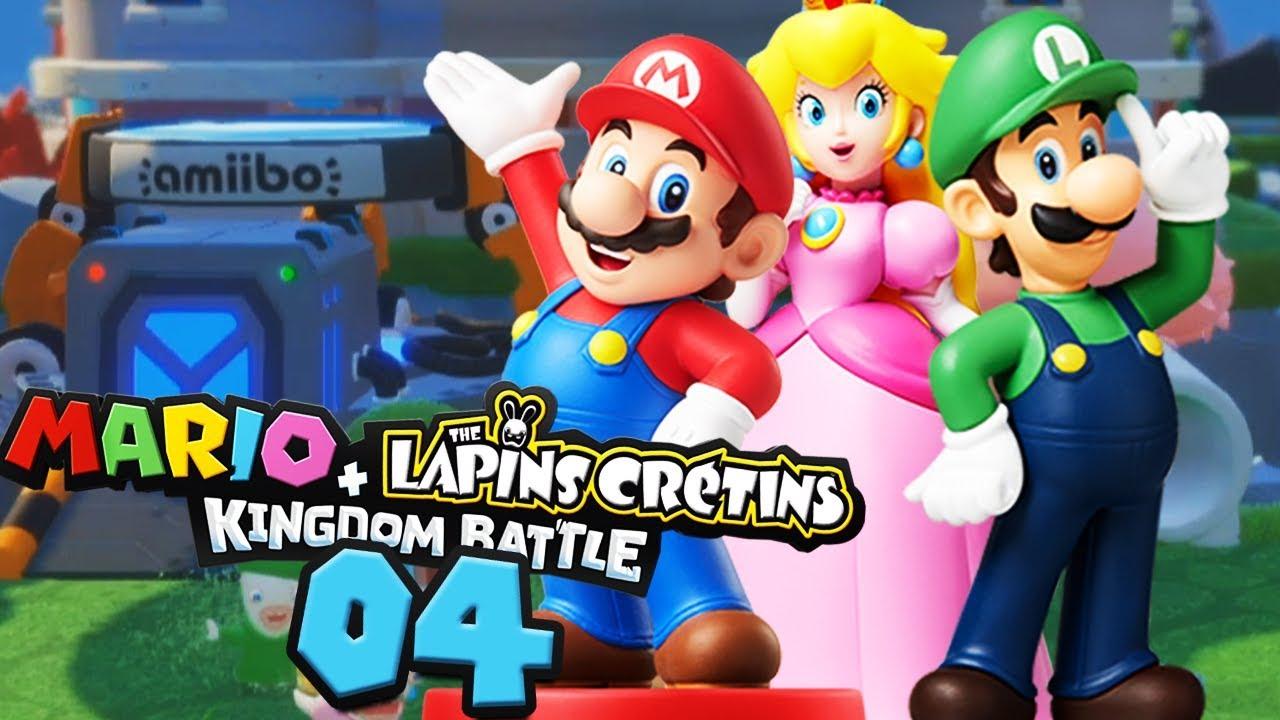 Les Super Armes Des Amiibo ! - Mario + Lapins Crétins #04 à Lapin Crétin À Colorier