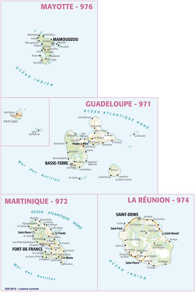 Les Territoires Ultramarins De France - Lorienph tout France Territoires D Outre Mer