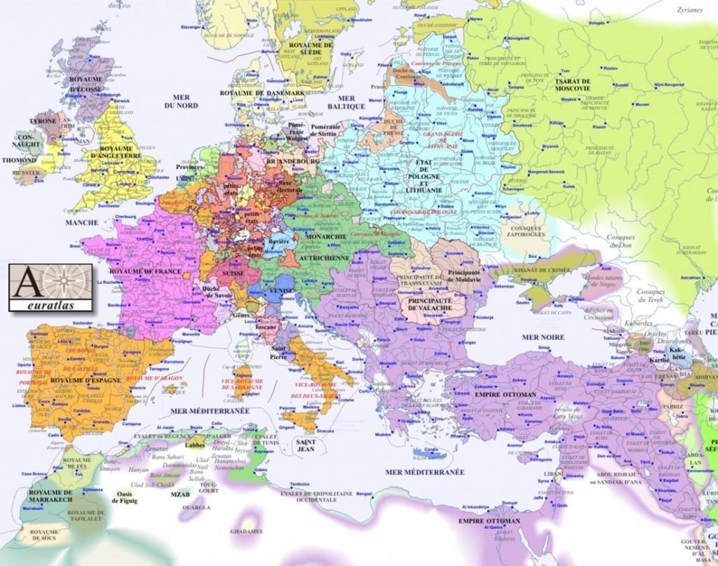 Les Villes Européennes Carte pour Carte Europe De L Est