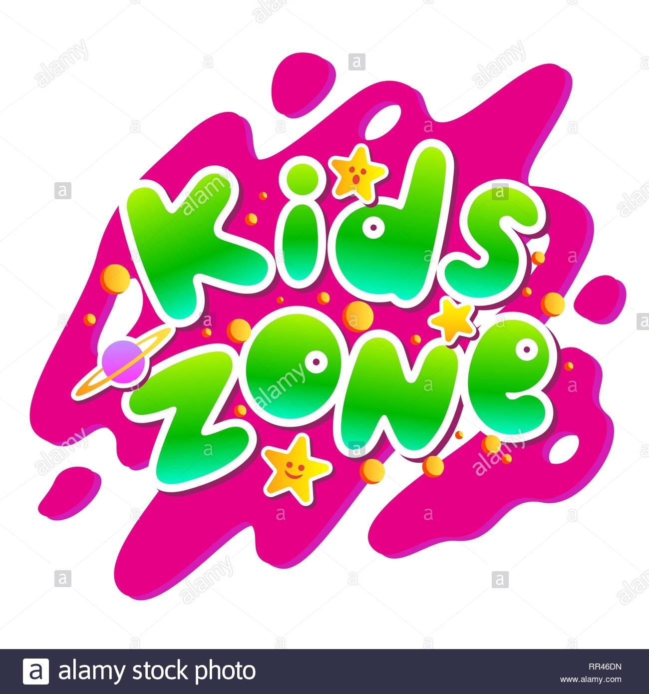 L'espace Enfants Vector Cartoon Logo. Bulle Colorée Pour Les encequiconcerne Jeux De Lettres Enfants