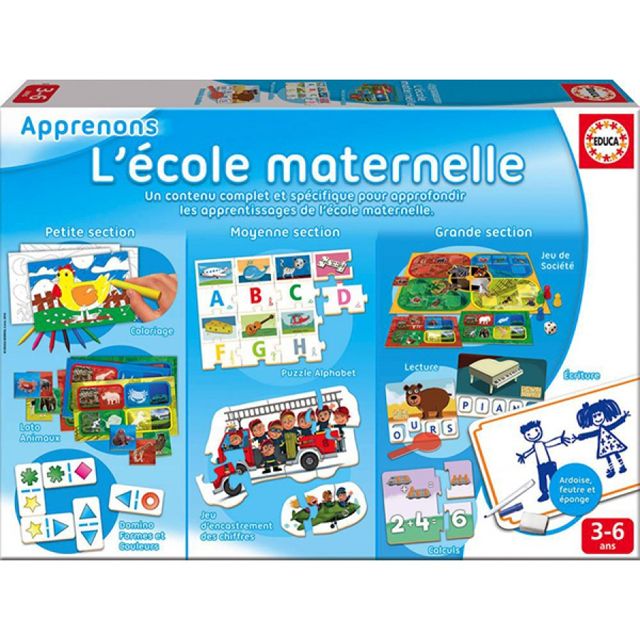 Let's Learn Kindergartin, Educa, Game, Word, Letter, Kids intérieur Jeux Apprentissage Maternelle