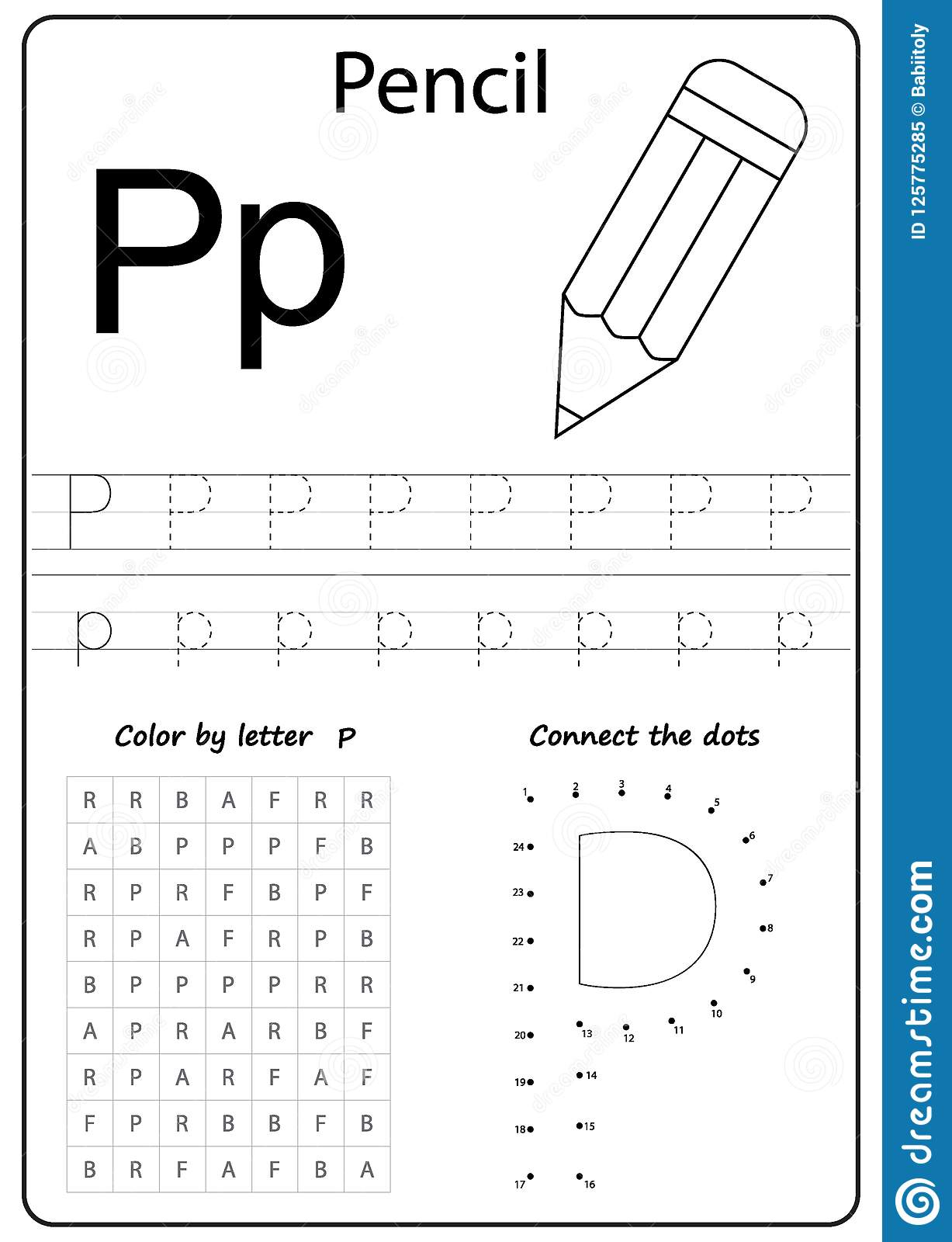 Lettre P D'écriture Tableau L'a-Z D'écriture, Alphabet pour Alphabet Français Écriture