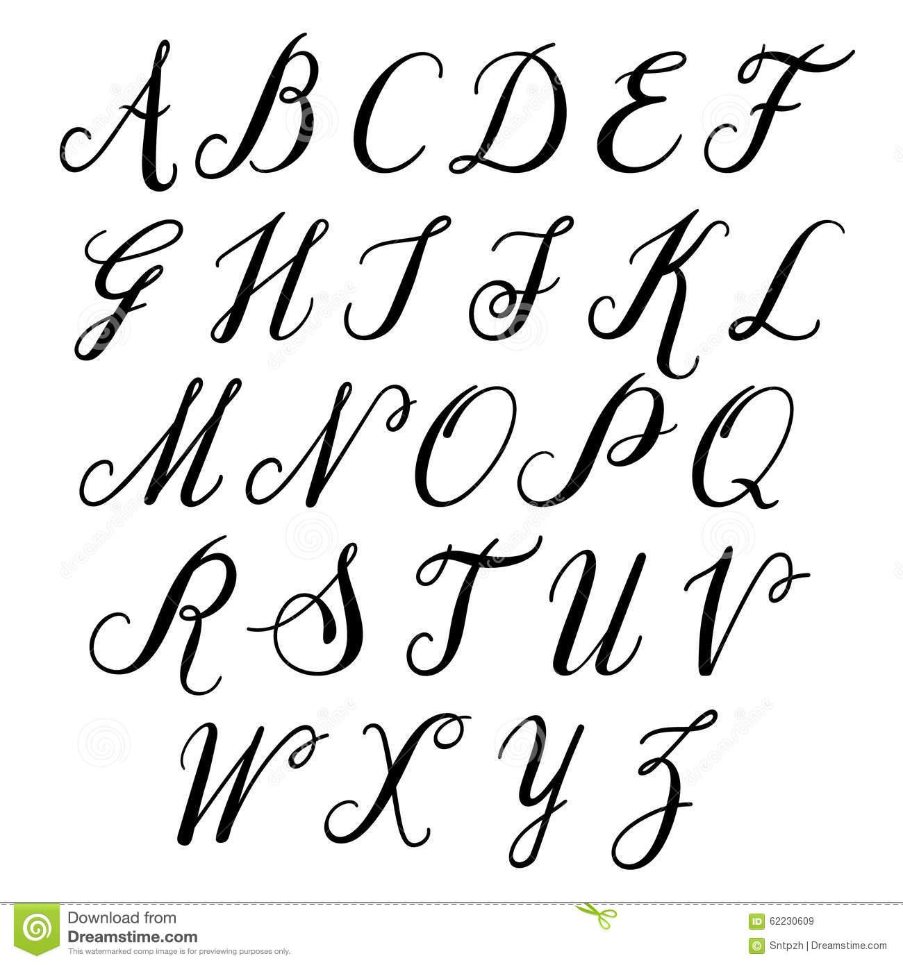 Lettres D'alphabet : Majuscule Alphabet De Vecteur tout L Alphabet En Majuscule