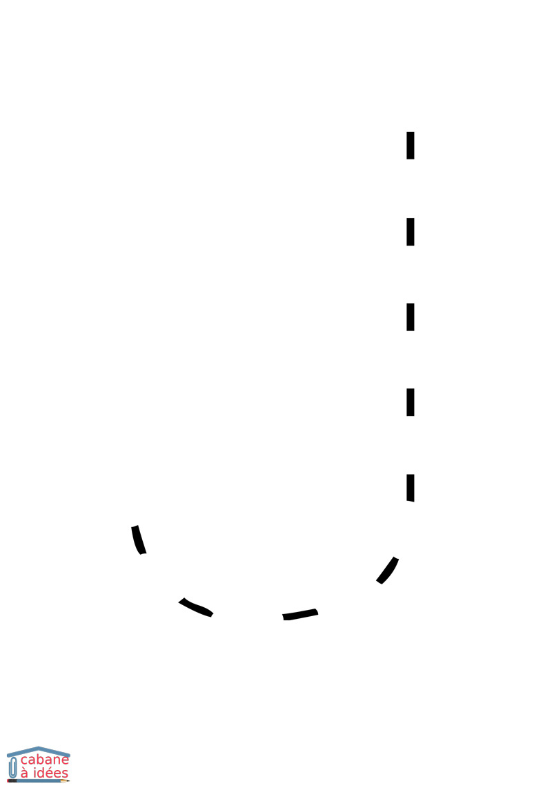Lettres En Pointillés - Cabane À Idées encequiconcerne Alphabet En Pointillé A Imprimer
