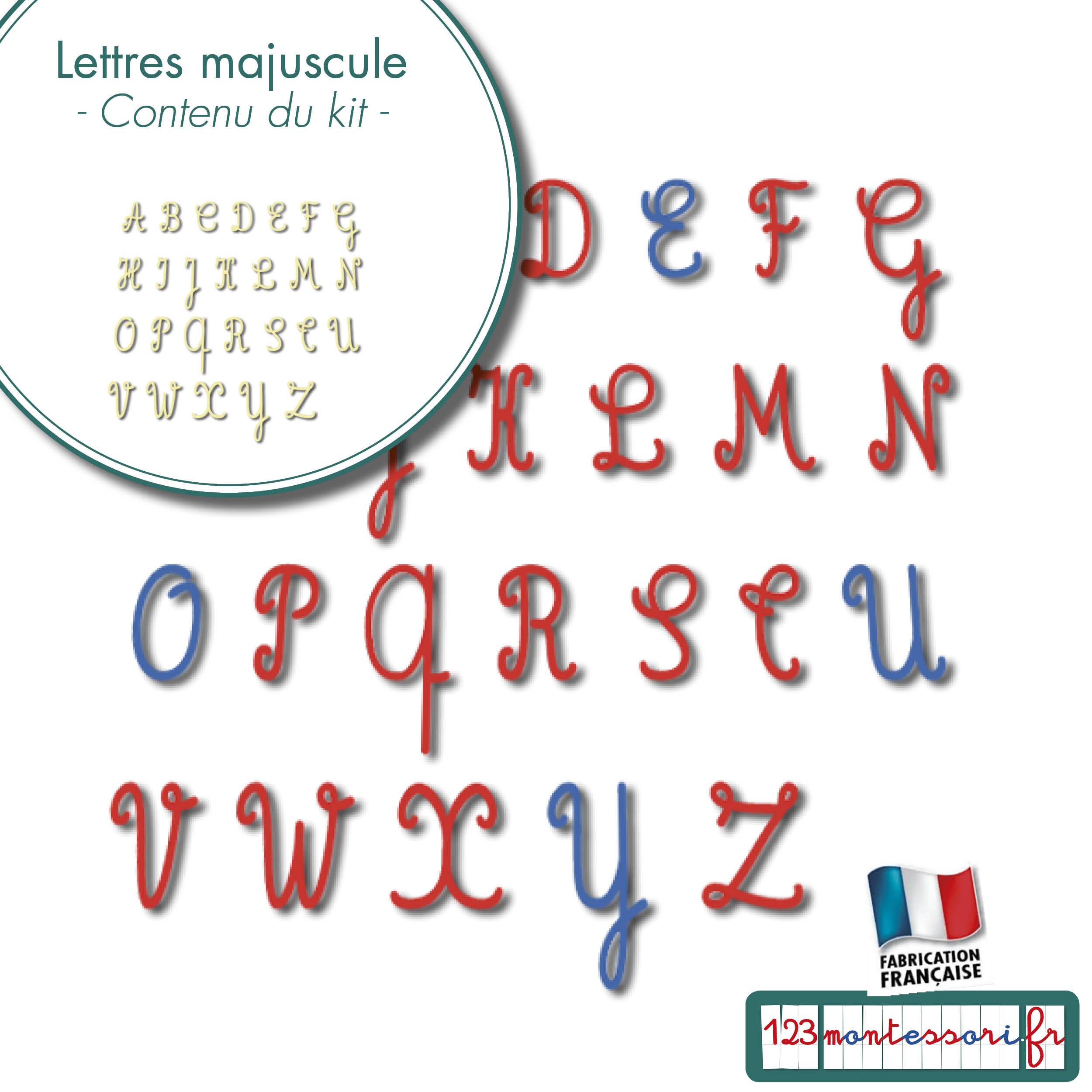 Lettres Majuscules à Lettres Majuscules À Imprimer