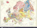 L'europe : Carte Géographique De L'europe, 1897 Banque D avec Carte Géographique De L Europe