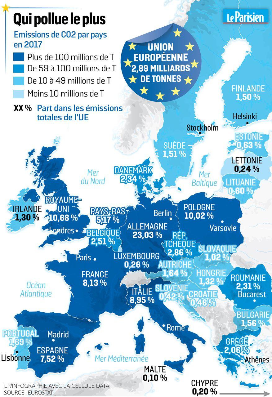 L'europe En Cartes : Un Continent En Pointe Sur L encequiconcerne Carte Union Européenne 2017