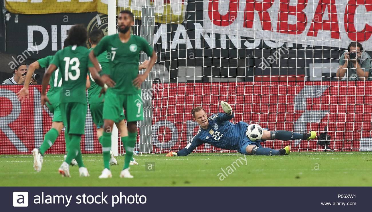 Leverkusen, Allemagne. Le 08 Juin, 2018. Landerspiel Firo à Jeux De Foot Gardien De But