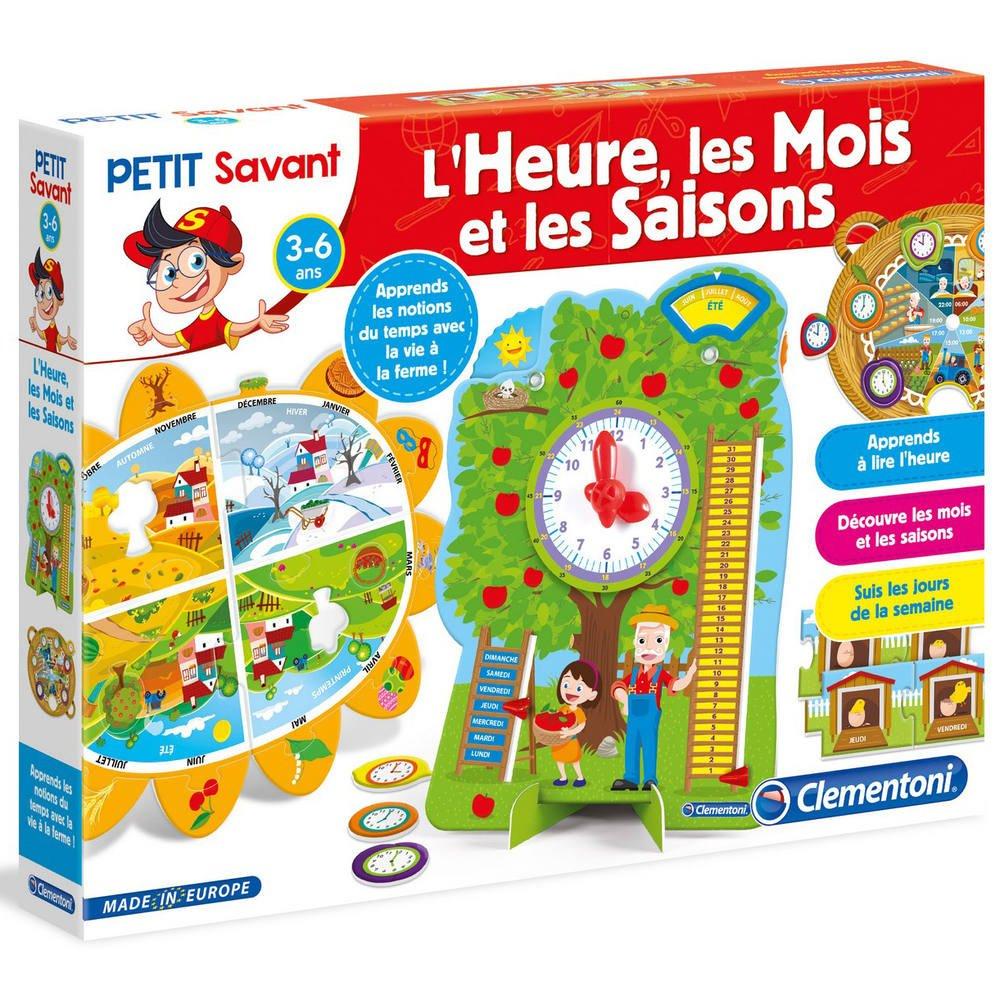 L'heure, Les Mois Et Les Saisons serapportantà Jeux Educatif 3 Ans