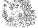 Licorne Blanche Fabuleuse De Livre De Coloriage serapportantà Cahier Coloriage A Imprimer