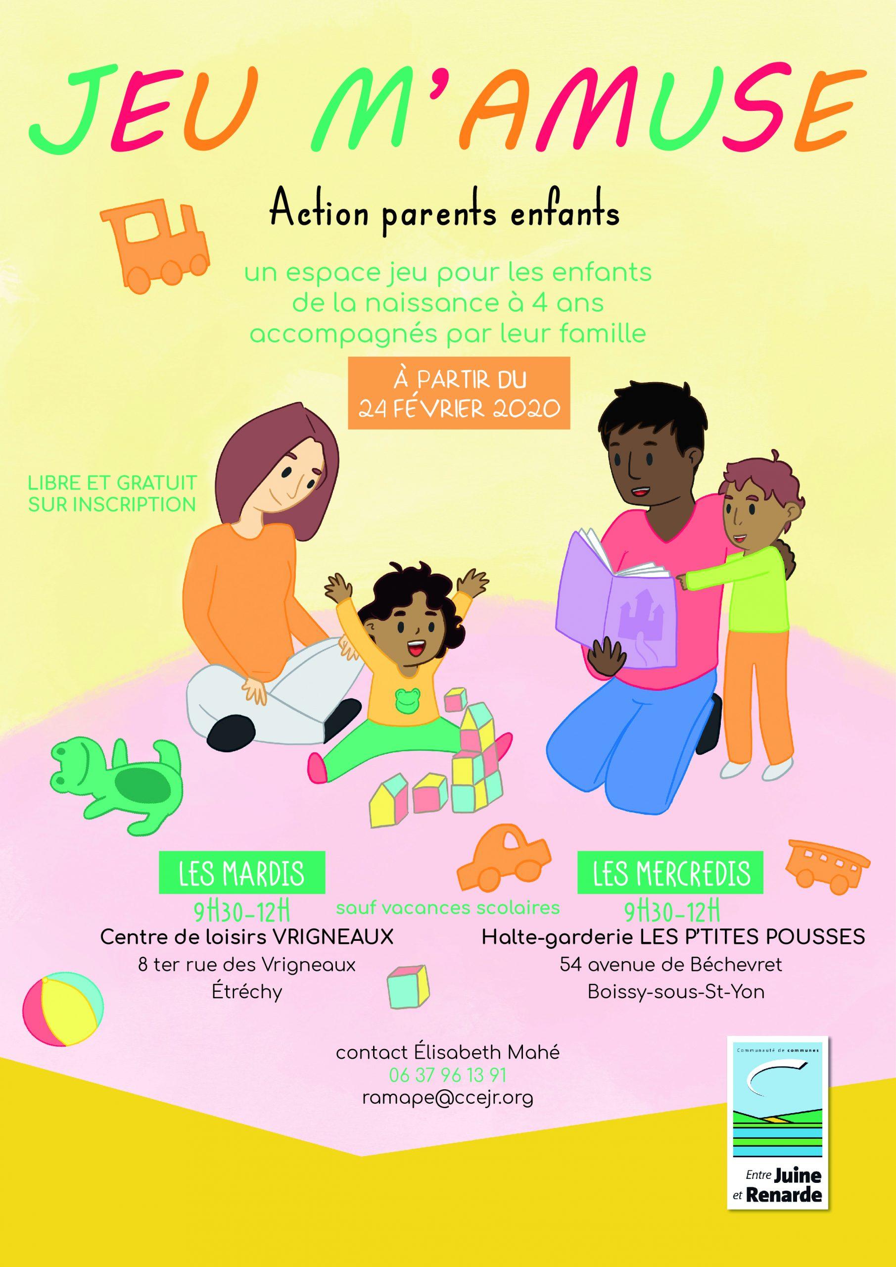 Lieux D'accueil Enfants-Parents intérieur Jeux Pour Enfant De 4 Ans