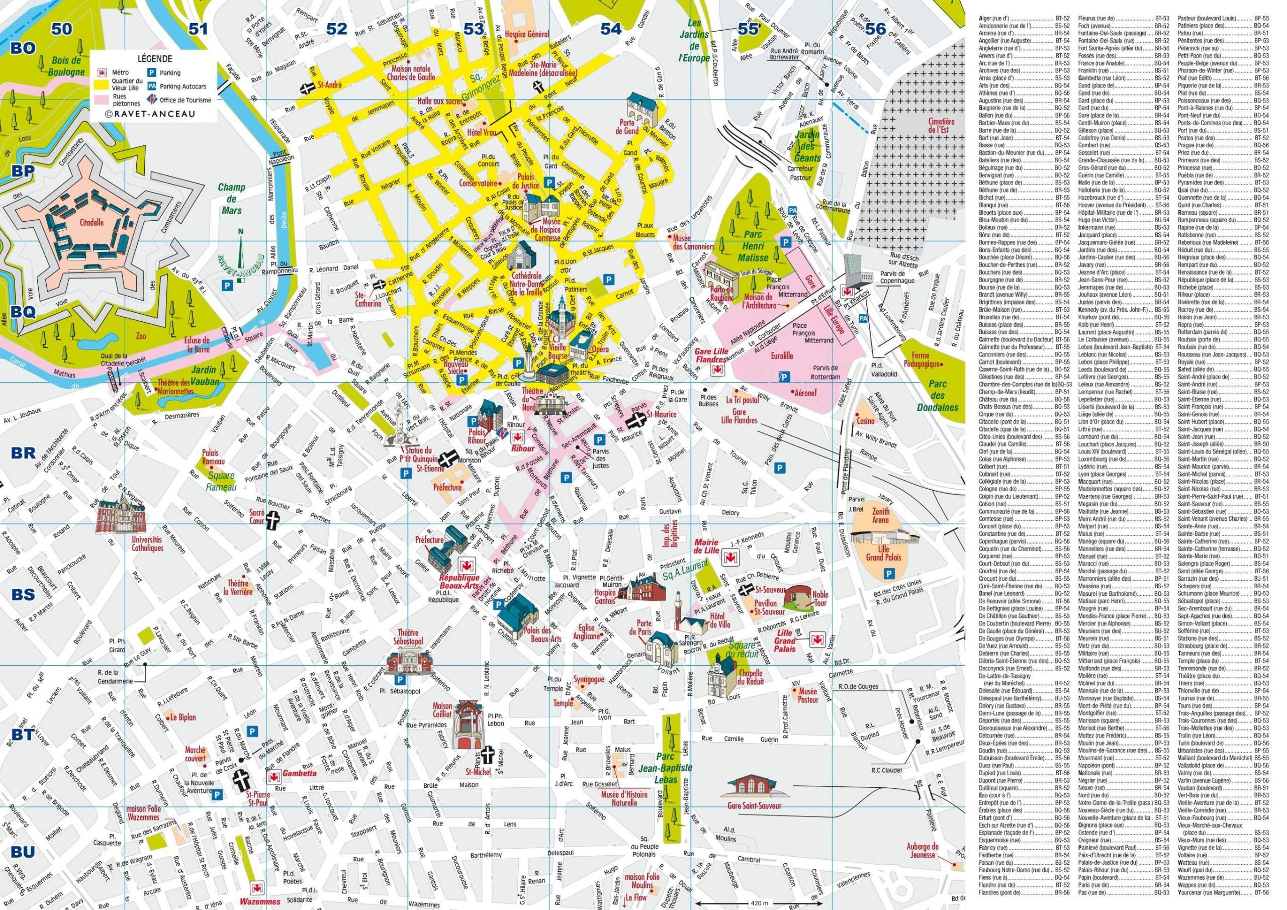 Lille Carte Touristique Imprimable Carte Imprimable De Lille avec Carte De France Imprimable