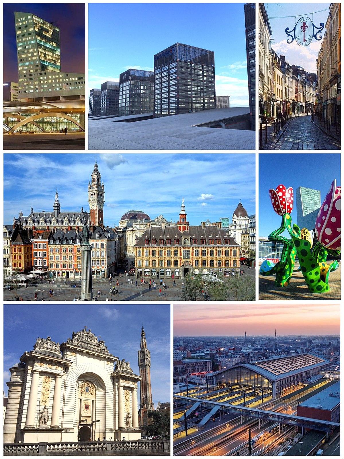 Lille - Wikipedia pour Combien De Region En France