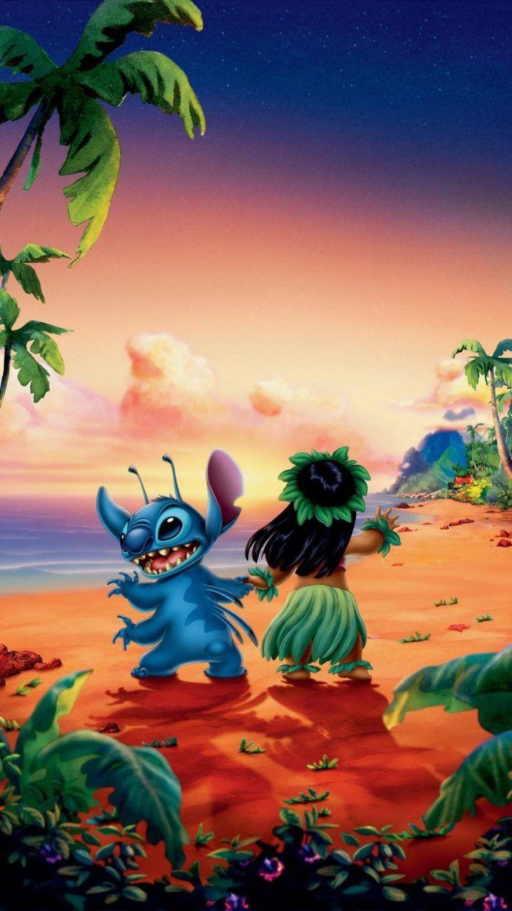 Lilo & Stitch (2002) Phone Wallpaper | Moviemania Lilo serapportantà Lilo Et Stitch Dessin Animé