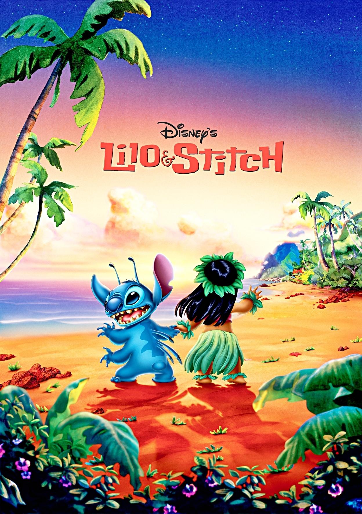 Lilo & Stitch Poster - Disney Photo (18651967) - Fanpop tout Lilo Et Stitch Dessin Animé