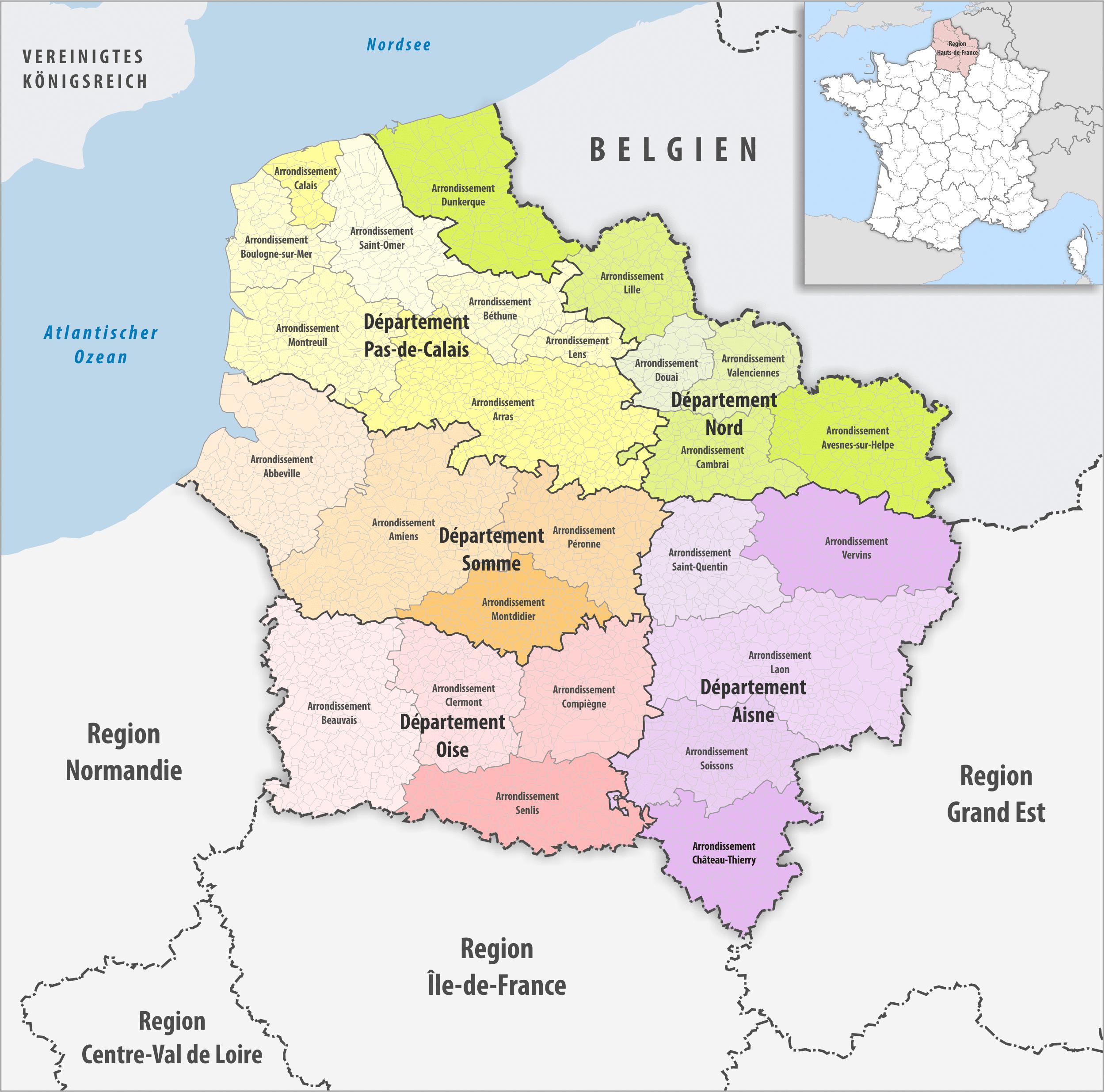 L'investissement Immobilier Dans Les Hauts De France - Enfin concernant Départements Et Régions De France