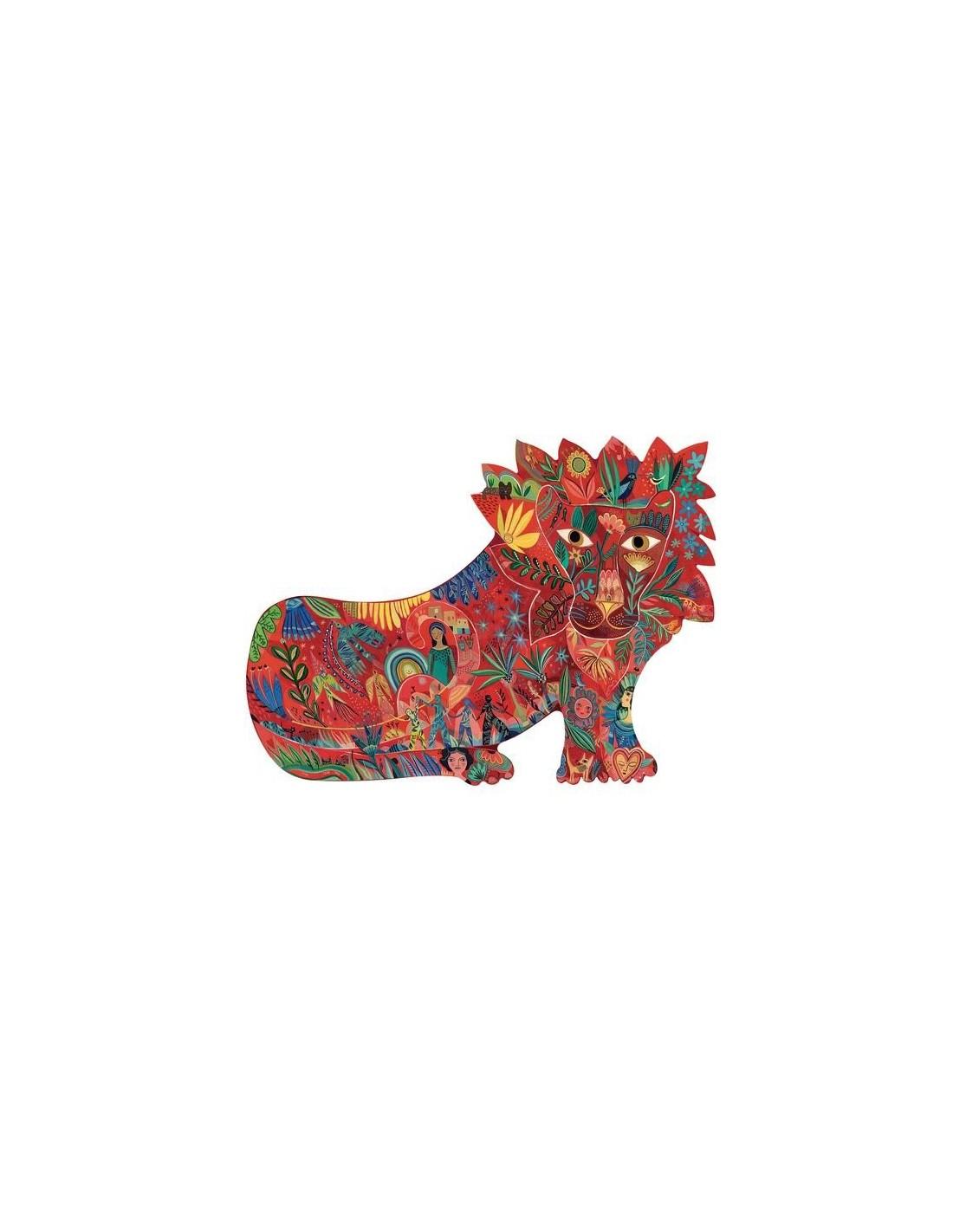 Lion Puzz'art 150 Pièces - Djeco serapportantà Puzzle 5 Ans En Ligne