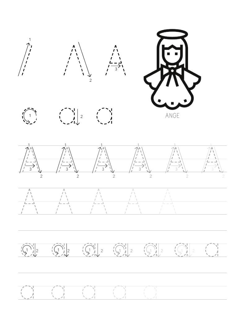 Lire Un Extrait Avec Bod : Mon Cahier De Écriture intérieur Apprendre A Écrire L Alphabet