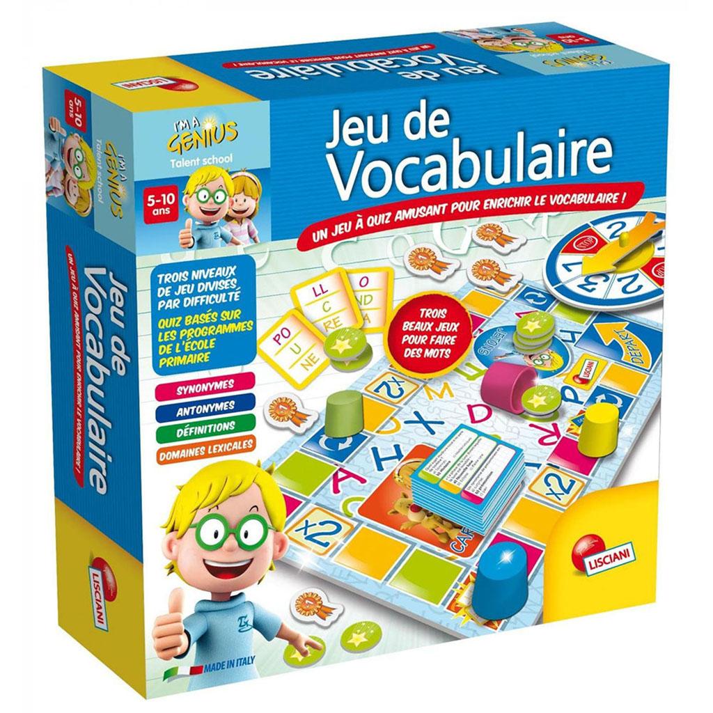 Lisciani - I'm A Genius - Jeu De Vocabulaire concernant Jeux Pour Enfant De 5 Ans