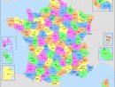 Liste Des Départements Français — Wikipédia serapportantà Carte Avec Les Departement