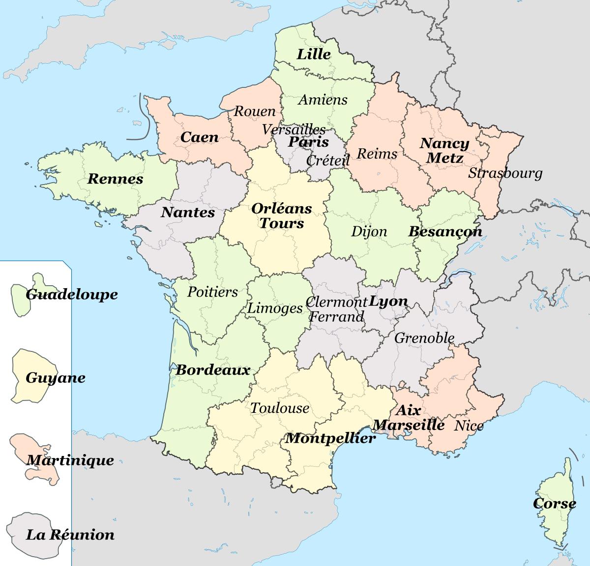 Liste Des Lycées De La Région Occitanie — Wikipédia intérieur Combien De Region En France