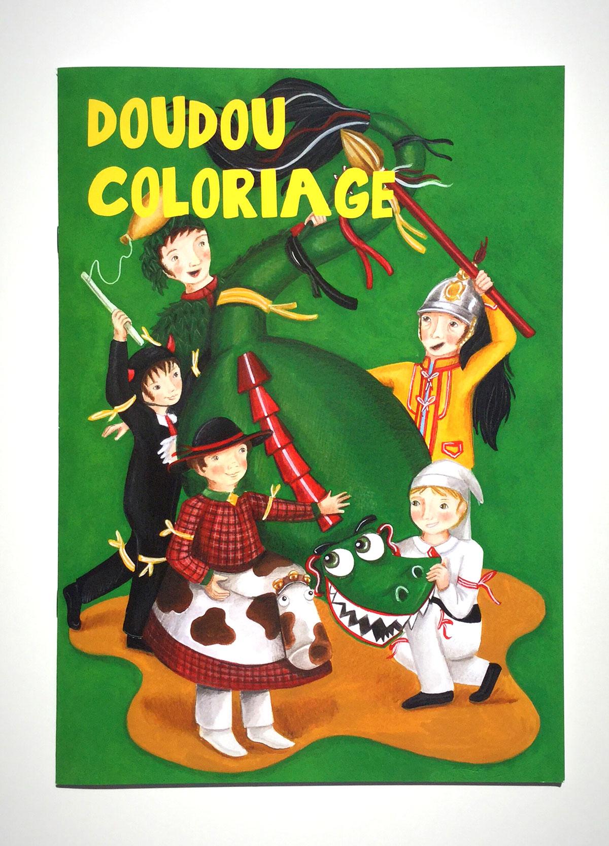 """Livre À Colorier """"doudou"""" dedans Dessin De Doudou"""