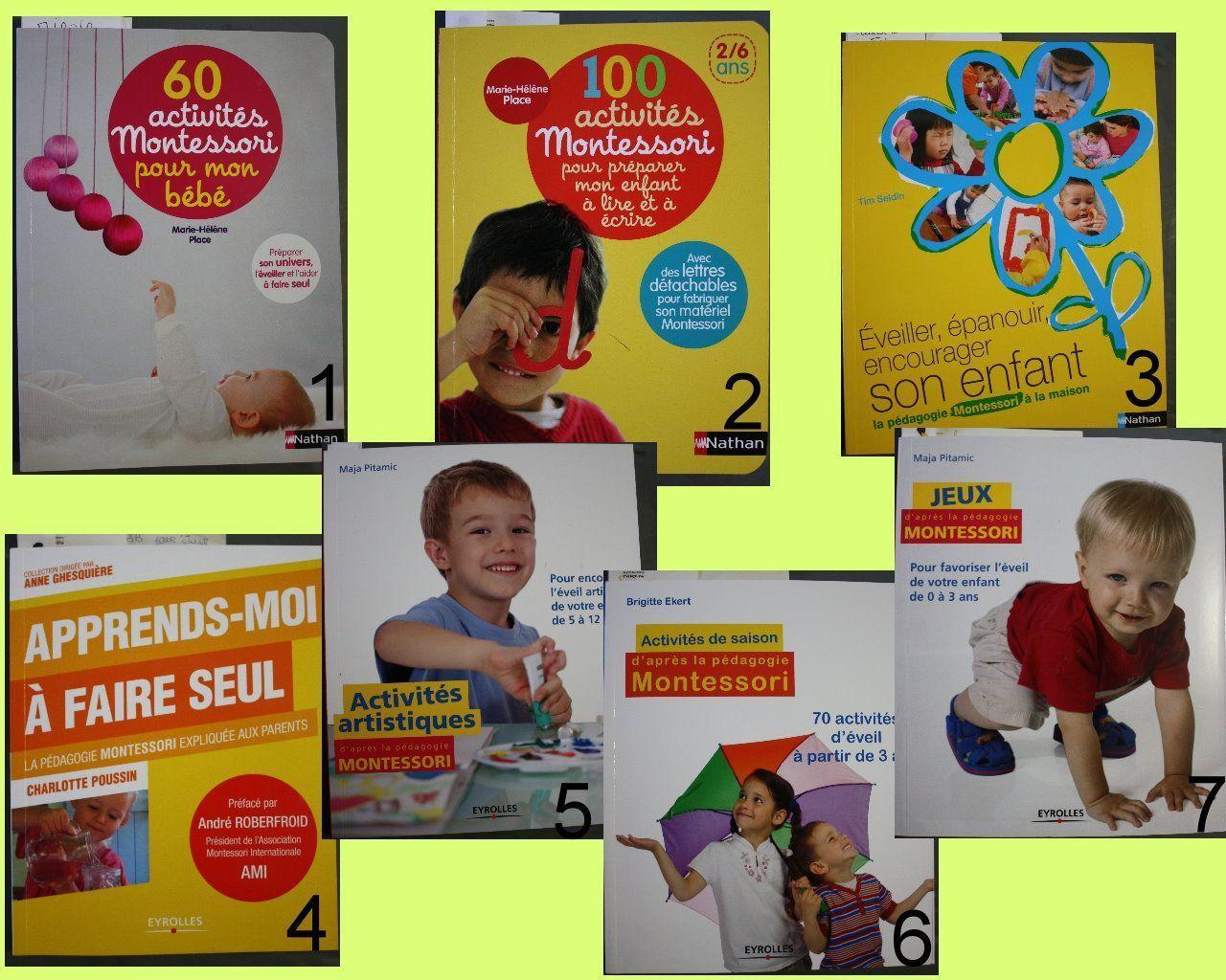 Livre Activite Eveil Bebe pour Activité Montessori 3 Ans