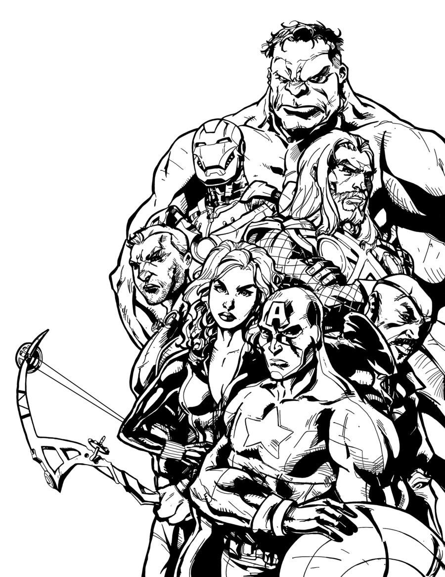Livre Coloriage Avengers intérieur Livre De Coloriage À Imprimer