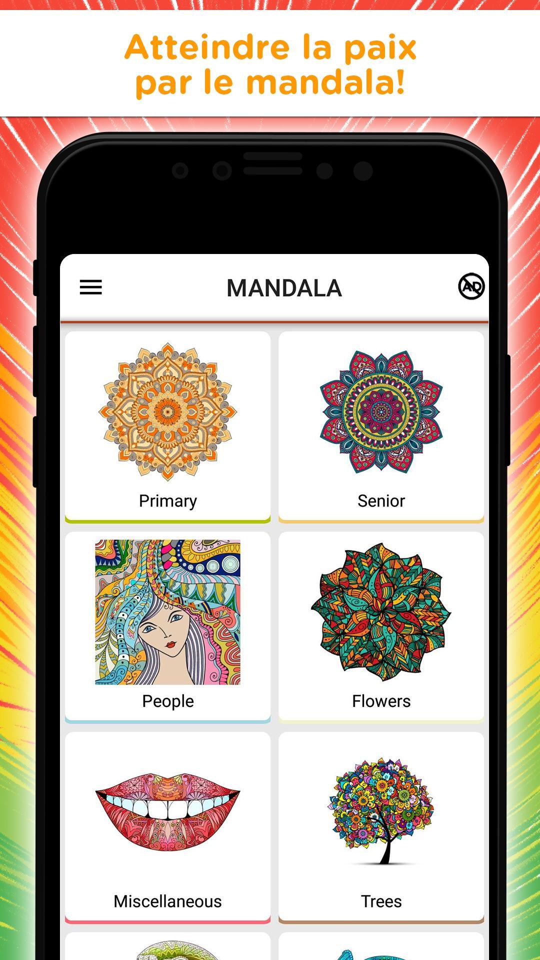Livre Coloriage Mandala - Libre Jeu Pour Adultes Pour intérieur Jeux De Coloriage De Rosace