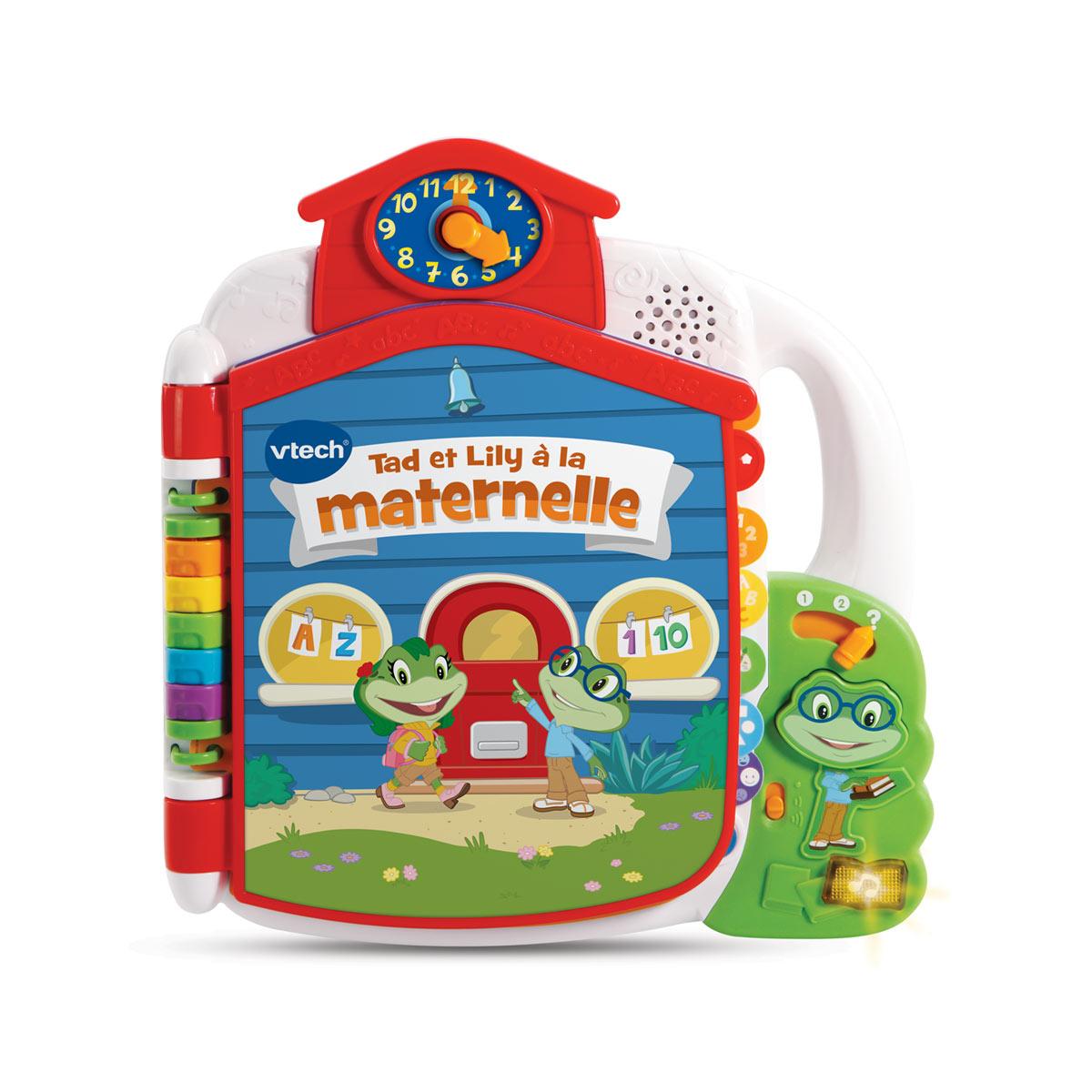Livre Interactif Tad Et Lily À La Maternelle encequiconcerne Jeux Educatif Gratuit Maternelle