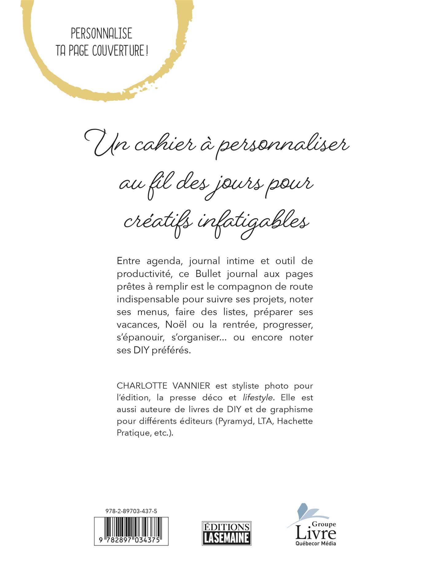 Livre Jamais Sans Mon Bullet Journal - Mon Carnet De Bord intérieur Journal De Vacances A Imprimer