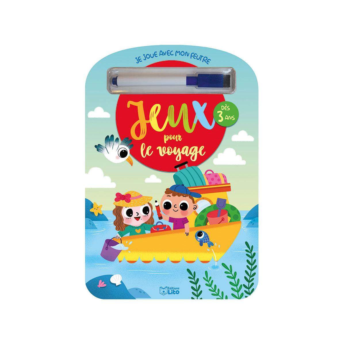 Livre Jeux Pour Le Voyage 3 Ans pour Jeux Gratuit Enfant De 3 Ans