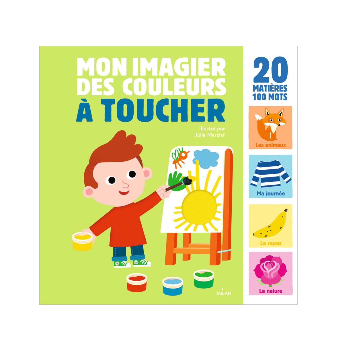 Livre Mon Imagier Des Couleurs À Toucher à Imagier Bébé En Ligne