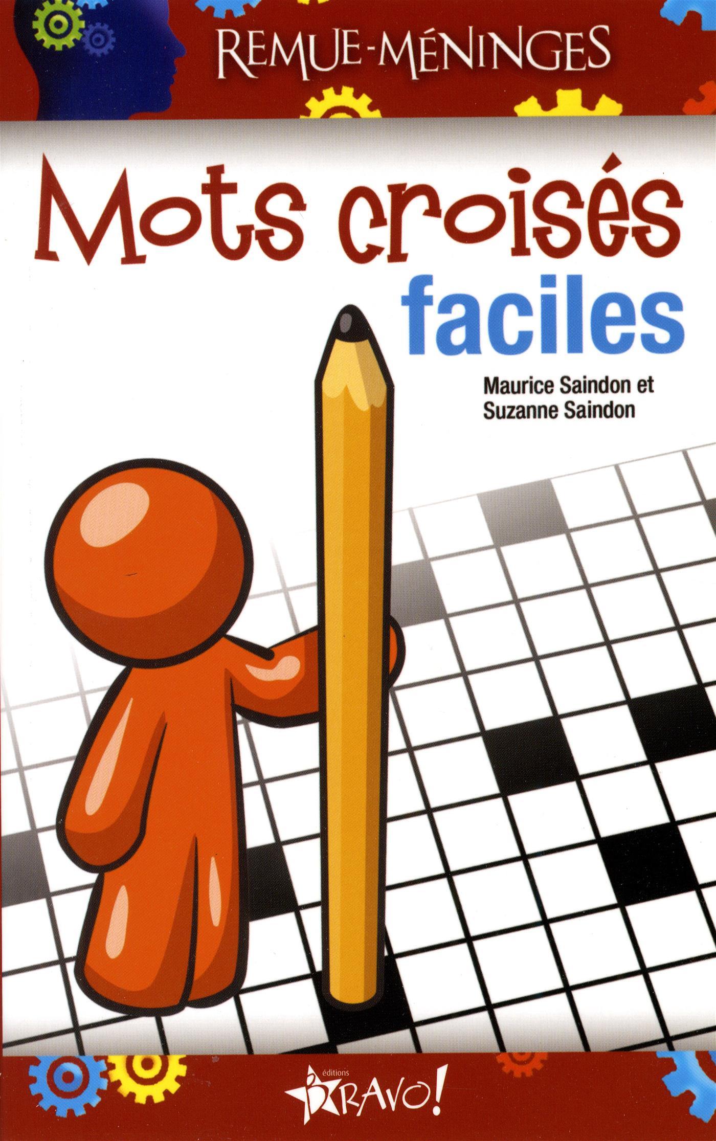 Livre Mots Croisés Faciles | Messageries Adp avec Mots Croisés Faciles Pour Débutants