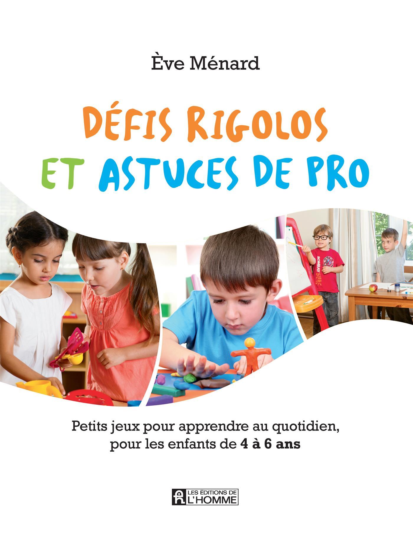 Livre Numérique Epub Défis Rigolos Et Astuces De Pro dedans Jeux Pour Enfant 6 Ans