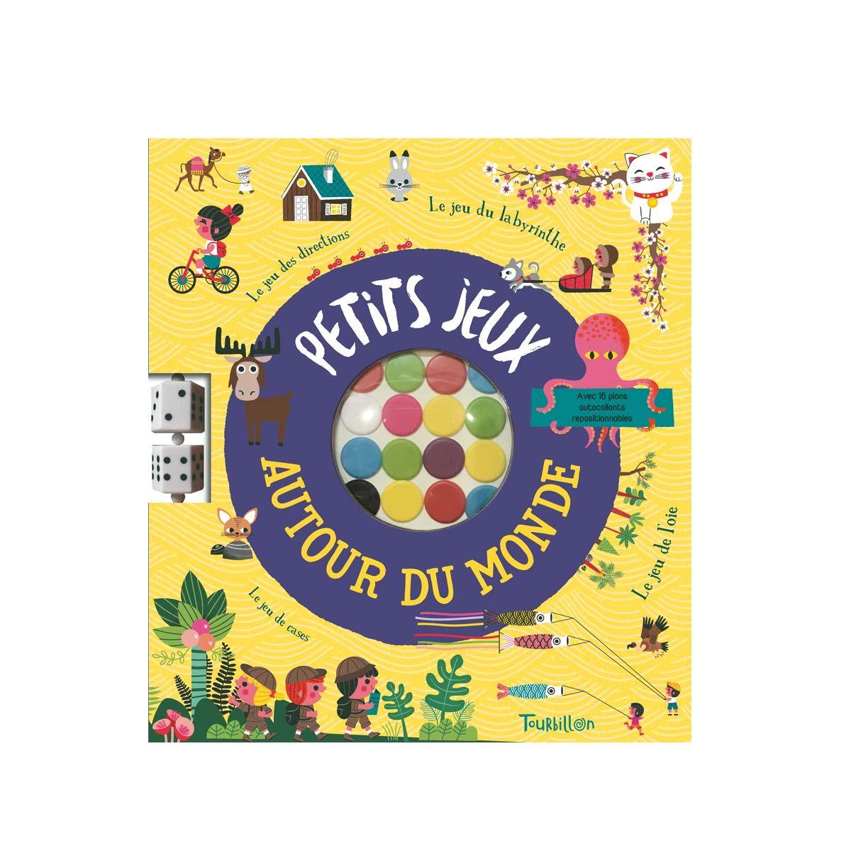 Livre Petits Jeux Autour Du Monde | Jeu De L'oie, Petit Jeux avec Jeux Gratuit Garcon 5 Ans