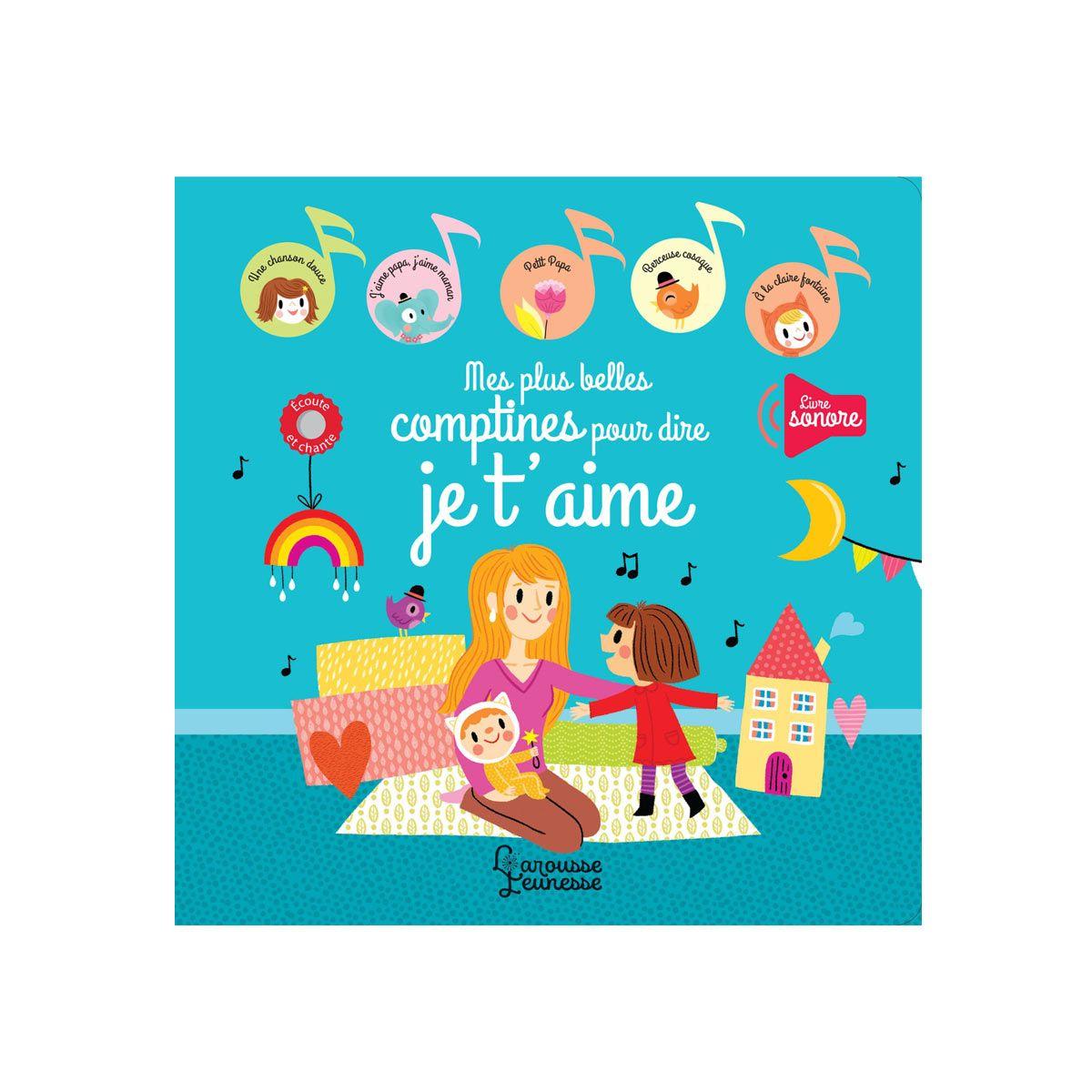 Livre Sonore Mes Plus Belles Comptines Pour Dire Je T'aime concernant Jeux Pour Petit De 4 Ans
